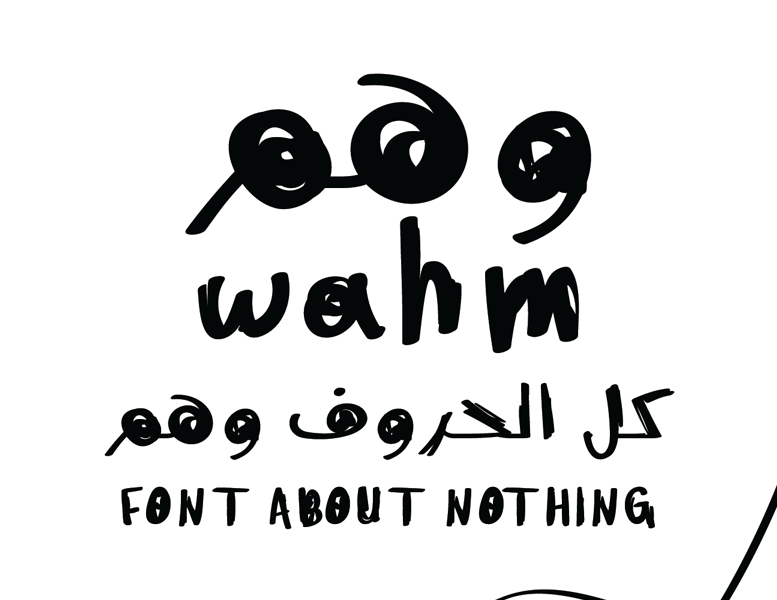 Wahm Two Typeface